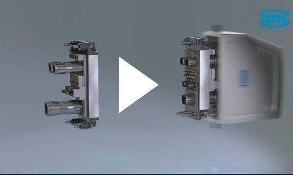 Animation Steckverbinder ODU-MAC
