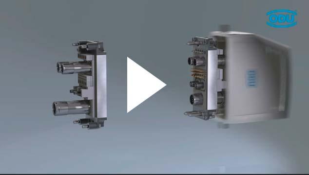 Screenshot Video ODU-MAC Steckverbinder