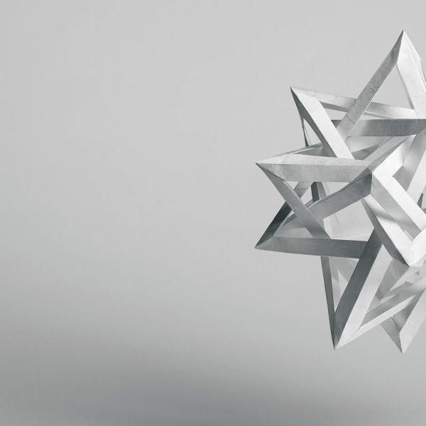 Origami-Motiv Stern