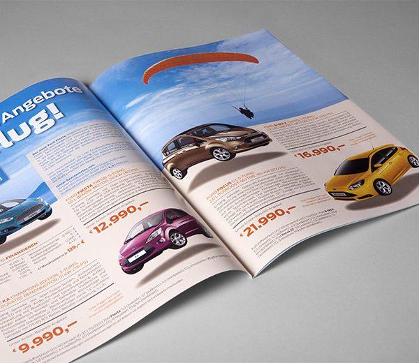 Prospekt Automobilhandel