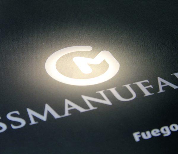 3D-Darstellung Logo Gussmanufaktur (Esterer)