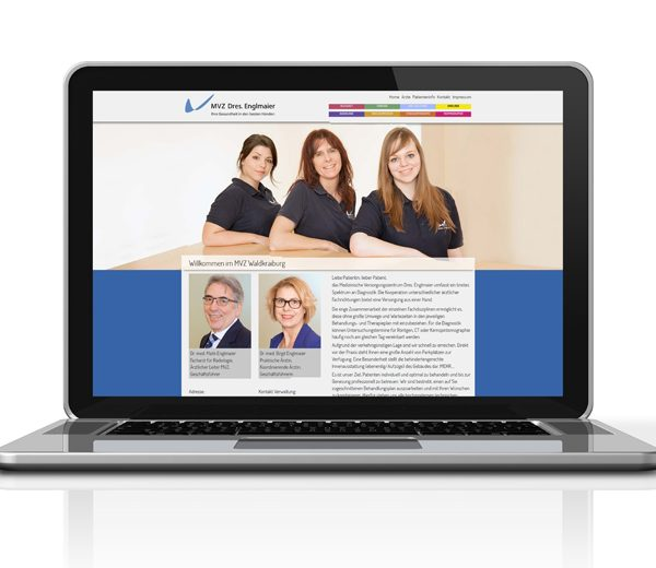 Website MVZ Dres. Englmaier