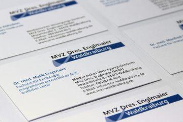 Printbeispiele MVZ Dres. Englmaier
