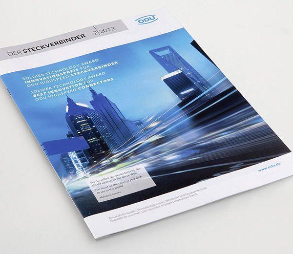 """Kundenzeitschrift """"Steckverbinder"""""""